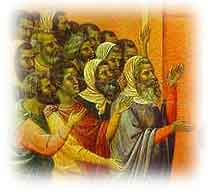 Pharisees by the Italian painter Duccio